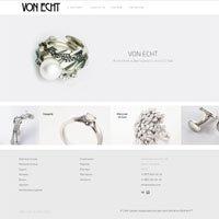 Дизайн и верстка сайта для vonecht
